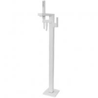 Cмеситель для ванны напольный Webert Pegaso PE851101740 Белый матовый