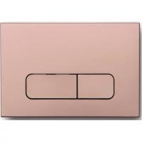 Клавиша для инсталляции AltroBagno PFP 002FQ Розовый металлик