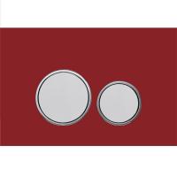 Клавиша для инсталляции AltroBagno PFP 006E4Q Красный/Хром