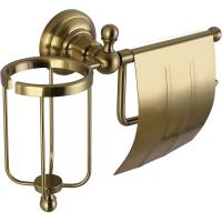 Бумагодержатель и освежителя воздуха Elghansa Praktic PRK-360 Bronze