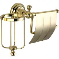 Бумагодержатель и освежителя воздуха Elghansa Praktic PRK-360 Gold
