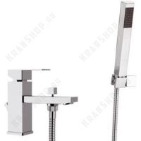 Смеситель на борт ванны Remer Q-Design QD03 Хром