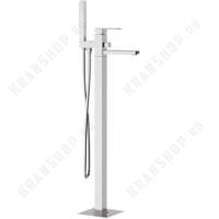 Cмеситель для ванны напольный Remer Q-Design QD08 Хром