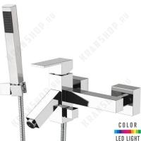 Cмеситель для ванны Remer Q-Color QR02 Хром