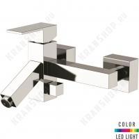 Cмеситель для ванны Remer Q-Color QR05 Хром