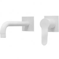 Cмеситель для раковины Webert Sax Evolution SE830606740 Белый матовый