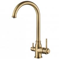 Смеситель для кухни под фильтр Zorg Hammer SH 763 Bronze