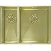 Кухонная мойка Seaman Eco Marino SME-575DL Light Gold (PVD)