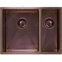 Кухонная мойка Seaman Eco Marino SME-575DR Amethyst (PVD)