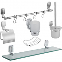Набор аксессуаров для ванной Elghansa Universal SNT-606 Chrome
