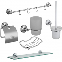 Набор аксессуаров для ванной Elghansa Universal SNT-906 Chrome