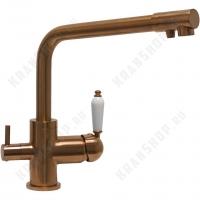 Cмеситель для кухни под фильтр Seaman Barcelone SSL-5384 Copper