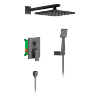 Душевая система TIMO Selene SX-2069/03SM Black