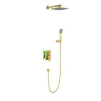 Душевая система TIMO Selene SX-2069/17SM Золото матовое