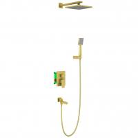 Душевая система TIMO Selene SX-3069/17SM Золото матовое