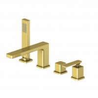 Смеситель на борт ванны TIMO Torne 4330/17Y Золото матовое