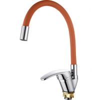 Смеситель для кухни V-3250 Хром/коричневый