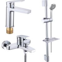 Комплект для ванной комнаты 3 в 1 ViEiR V013573 Хром