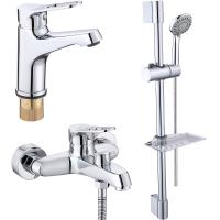 Комплект для ванной комнаты 3 в 1 ViEiR V023573 Хром