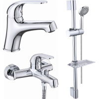 Комплект для ванной комнаты 3 в 1 ViEiR V033573 Хром