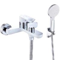 Cмеситель для ванны ViEiR V043531F Белый/Хром