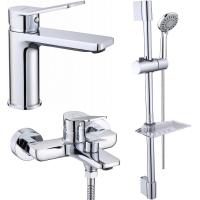 Комплект для ванной комнаты 3 в 1 ViEiR V053573 Хром