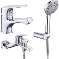 Комплект для ванной комнаты 2 в 1 ViEiR V063571 Хром