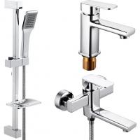 Комплект для ванной комнаты 3 в 1 ViEiR V113573 Хром