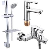 Комплект для ванной комнаты 3 в 1 ViEiR V233573 Хром