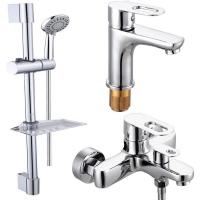 Комплект для ванной комнаты 3 в 1 ViEiR V243573 Хром