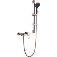 Комплект для ванной комнаты 2 в 1 ViEiR V293531-CL Черный/Золото
