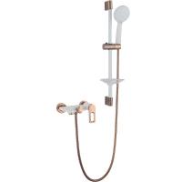 Комплект для ванной комнаты 2 в 1 ViEiR V293531-FL Белый/Золото
