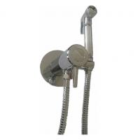 Гигиенический душ скрытого монтажа с термостатом Ganzer Termo GZ42501 хром