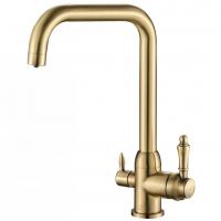 Смеситель для кухни под фильтр Zorg Hammer SH 725 Bronze