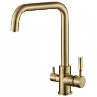 Смеситель для кухни под фильтр Zorg Hammer SH 715 Bronze