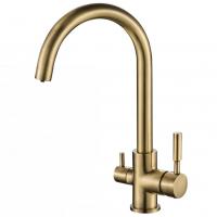 Смеситель для кухни под фильтр Zorg Hammer SH 713 Bronze