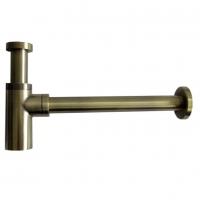 Сифон для раковины GANZER A-2D бронза