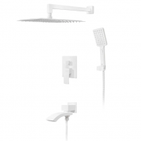 Душевая система Hansberge CUBITO H6077WW Белый
