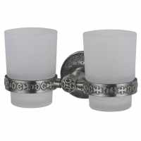 Стакан двойной Zorg AZR 04 Silver