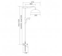 Душевая система Veragio AGATHA VR.AGA-9945.CR