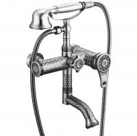 Смеситель для ванны ZorG Antic A 400W-SL