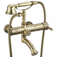 Смеситель для ванны ZorG Antic A 100W Bronze
