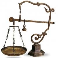 Весы с чашами Stilars 130366 Bronze