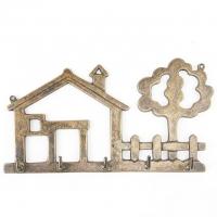 Вешалка для одежды ''Дом'' Stilars 130660 Bronze