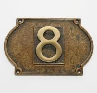 Табличка на дверь ''Цифра'' Stilars 131408 Bronze