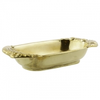 Тарелка овальная Stilars 1.630 Gold