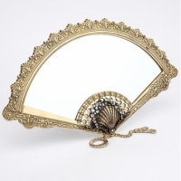 Зеркало настольное Stilars PV1057 Gold