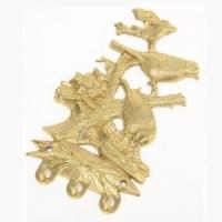 Ключница настенная ''Две птицы'' Stilars 16.8597 Gold