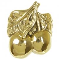 Кольцо для салфетки ''Вишня'' Stilars 2.260-В Gold
