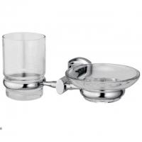 Мыльница и стакан WasserKRAFT Oder K-3026 CR
